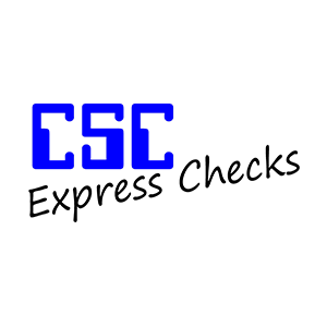 CSC Express Checks logo