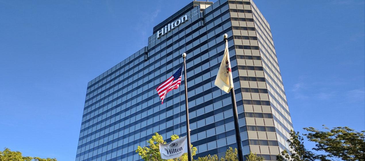 Hilton Meadowlands Exterior