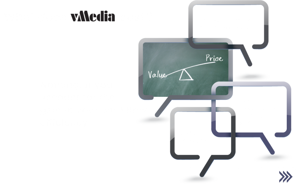 What does vMedia cost?