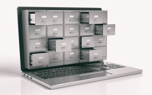 vExchange data storage