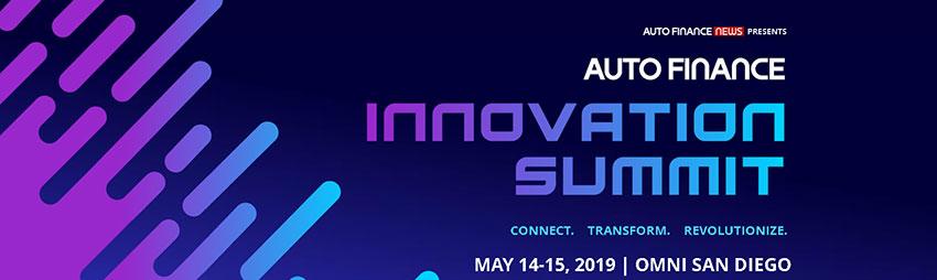 Auto Finance Innovation Summit 2019