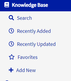 vPortal Knowledge Base