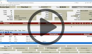 Video for Handling Emergencies in Collection-Master