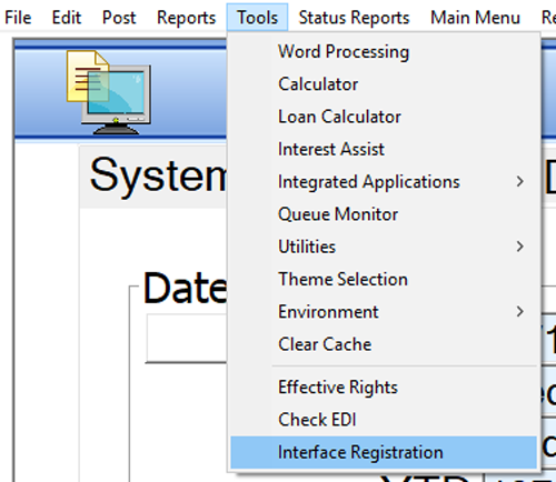 Interface Registration