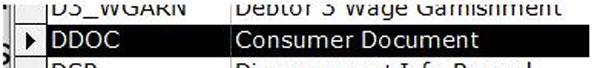 DDOC Consumer Document Image