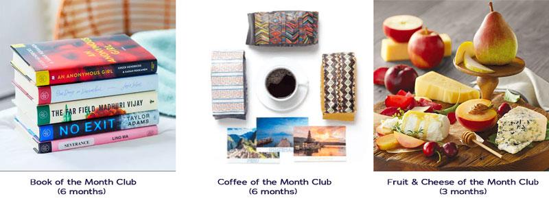 three January gifts