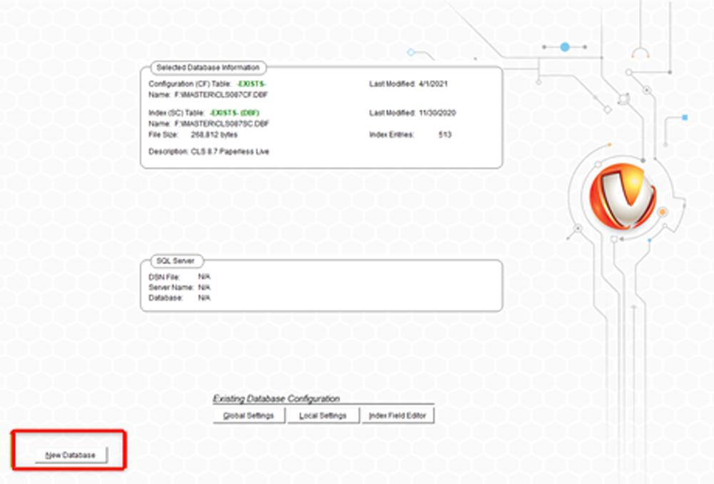 Creating a vMedia SQL Database 2