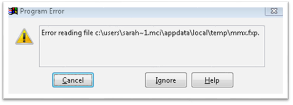 Microsoft SQL Server Login Error