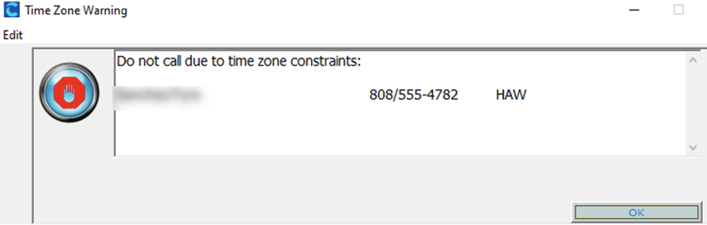 Collection Master tip Time Zone Set Up constraints