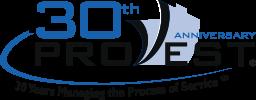 Pro vest 30th anniversary logo